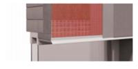 Профиль-капельник ROCKWOOL (с закрытым капельником) - для предотвращения затекания воды на откосы.