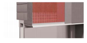 Профиль-капельник ROCKWOOL (с открытым капельником) - для предотвращения затекания воды на откосы.